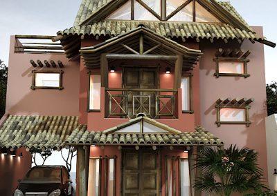 Casa Rústica DR