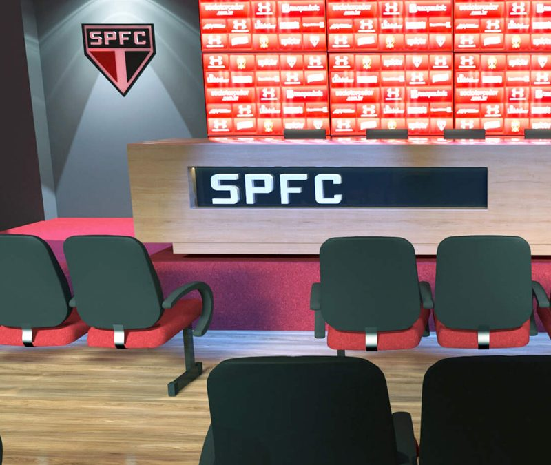 pagina Sala de Imprensa SPFC