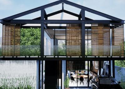 Casa em Estrutura Metálica
