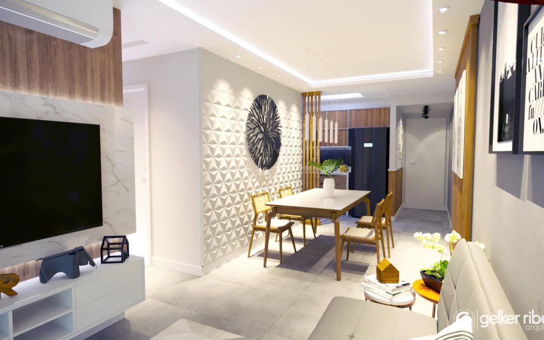 10 projetos de decoração de salas pequenas que inspiram