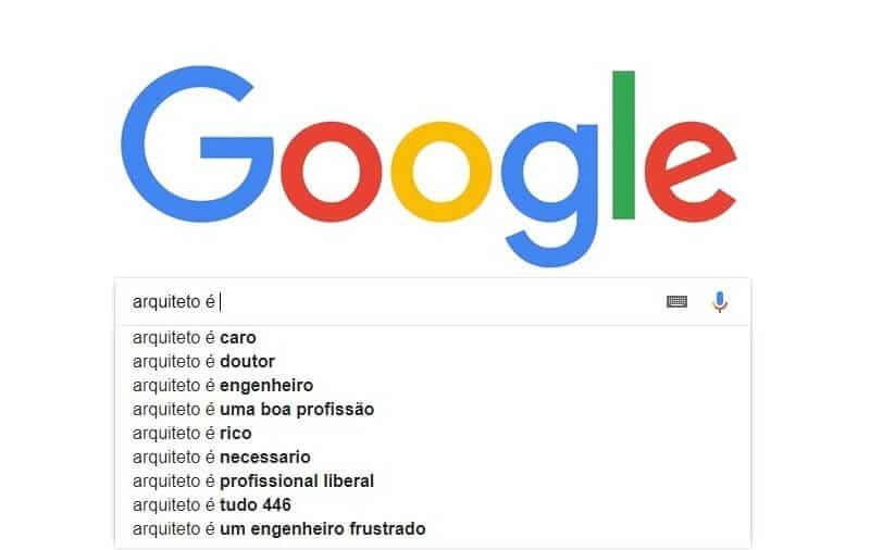 Dr. Google na Arquitetura