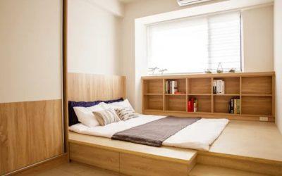 20 quartos pequenos que parecem maiores.